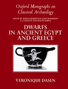 Cover for Dwarfs in Ancient Egypt and Greece