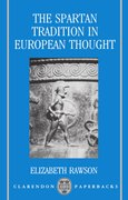 Cover for The Spartan Tradition in European Thought