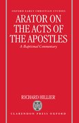 Cover for Arator on the Acts of the Apostles