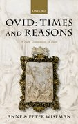 Cover for Ovid: Times and Reasons