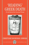 "Cover for ""Reading"" Greek Death"