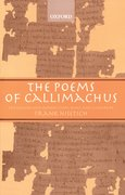 Cover for The Poems of Callimachus