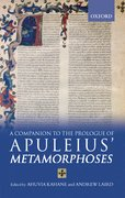 Cover for A Companion to the Prologue of Apuleius