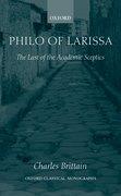Cover for Philo of Larissa
