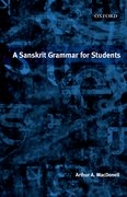 Cover for A Sanskrit Grammar for Students
