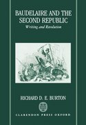Cover for Baudelaire and the Second Republic
