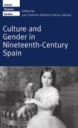 Cover for Culture and Gender in Nineteenth-Century Spain