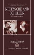 Cover for Nietzsche and Schiller: Untimely Aesthetics