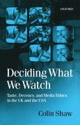 Cover for Deciding What We Watch