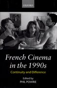 Cover for French Cinema in the 1990s
