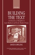 Cover for Building the Text
