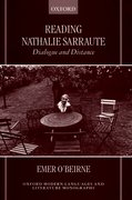 Cover for Reading Nathalie Sarraute