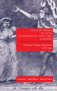 Cover for Italian Opera in Late Eighteenth-Century London