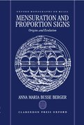 Cover for Mensuration and Proportion Signs