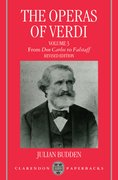 Cover for The Operas of Verdi
