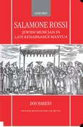 Cover for Salamone Rossi, Jewish Musician in Late Renaissance Mantua