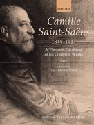 Cover for Camille Saint-Saens 1835-1921