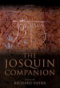 Cover for The Josquin Companion