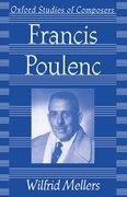 Cover for Francis Poulenc