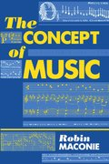 Cover for The Concept of Music