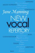 Cover for New Vocal Repertory