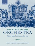 Cover for The Birth of the Orchestra