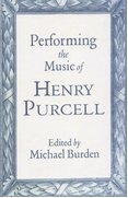 Cover for Performing the Music of Henry Purcell