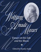 Cover for Wolfgang Amadè Mozart