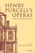 Henry Purcell's Operas The Complete Texts