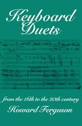 Cover for Keyboard Duets from the 16th to the 20th Century for One and Two Pianos