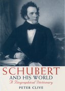 Cover for Schubert and His World