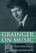 Cover for Grainger on Music