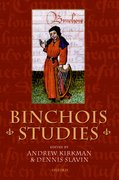 Cover for Binchois Studies