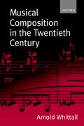 Cover for Musical Composition in the Twentieth Century