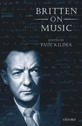 Cover for Britten on Music