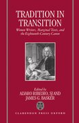Cover for Tradition in Transition