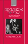 Cover for Decolonizing the Stage