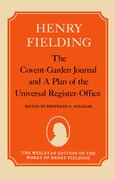 Cover for The Covent-Garden Journal and A Plan of the Universal Register-Office