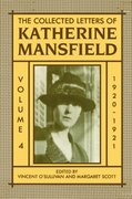 Cover for The Collected Letters of Katherine Mansfield