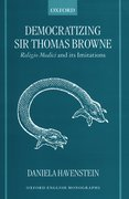 Cover for Democratizing Sir Thomas Browne