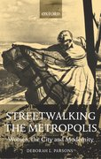 Cover for Streetwalking the Metropolis