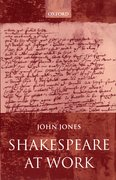 Cover for Shakespeare at Work