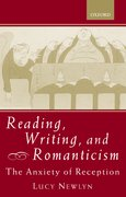 Cover for Reading, Writing, and Romanticism