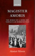 Cover for Magister amoris