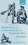 Cover for British Poetry and the Revolutionary and Napoleonic Wars