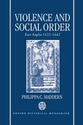 Cover for Violence and Social Order