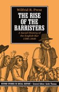 Cover for The Rise of the Barristers
