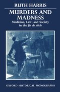 Cover for Murders and Madness