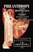 Cover for Philanthropy and the Hospitals of London