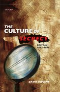 Cover for The Culture of Secrecy